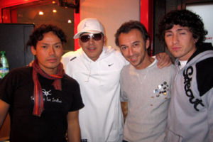 Gerardo & Albertino at Radio Deejay - 2005