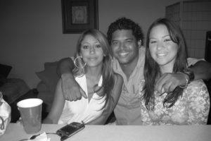 Raymond Castellon , Sandra & Roby - Miami 2002
