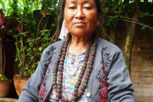 Shaman woman from Bhutan