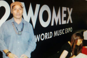 THESSALONIKI GREECE - Womex 2012