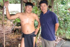 Penan Warrior Sarawak Maleysia
